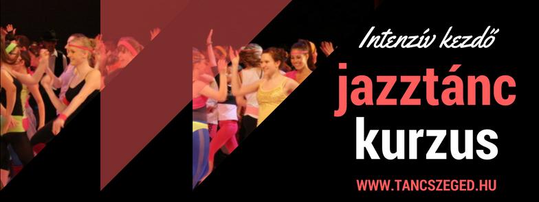 3 napos intenzív kezdő jazztánc kurzus Szegeden